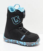 Burton Grom Boa 2019 botas de snowboard en negro para niños