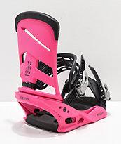 Burton Mission 2019 fijaciones de snowboard en rosa
