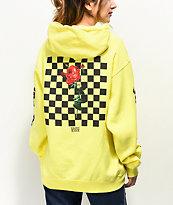 By Samii Ryan Let Me Go Neon Yellow Hoodie