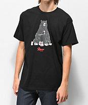 Casual Industrees x Rainier Bear Black T-Shirt