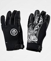 Celtek x Sketchy Tank U Tube Black Pipe Snowboard Gloves