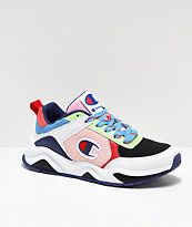 Champion 93 Eighteen SP Block White & Multicolor Shoes
