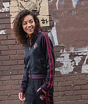 Champion Black & Floral Track Jacket