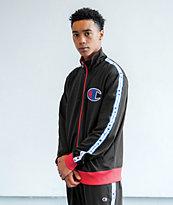 Champion Black Track Jacket