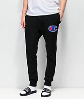 Champion Chainstitch Seal pantalones deportivos en negro