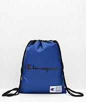 Champion Forever Double bolso azul con cordón