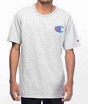 Champion Heritage Patriotic Athletic Grey T-Shirt