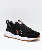 Champion Mens 93 Eighteen Big C Black & White Shoes