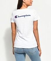 Champion Patriotic White T-Shirt