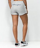 Champion Reverse Weave shorts grises a rayas