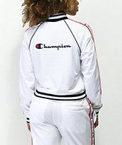 Champion White Track Jacket