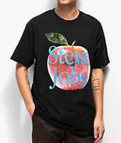 Chinatown Market Steve Jobs Black T-Shirt