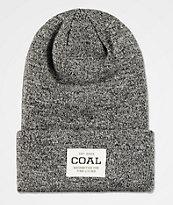Coal Uniform Marbled Black Beanie