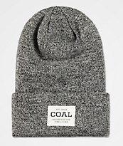 Coal Uniform gorro negro jaspeado