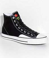 Converse x Chocolate CTAS Pro Black & White Skate Shoes