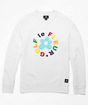 Converse x Golf Wang Le Fleur White Crew Neck Sweatshirt