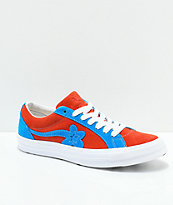 Converse x Golf Wang One Star Le Fleur Lava & Diva zapatos de skate