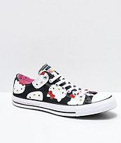 Converse x Hello Kitty Chuck Taylor Black & White Shoes