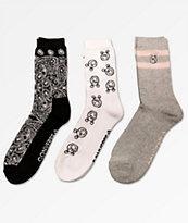 Converse x Miley Cyrus 3 Pack calcetines mezclados