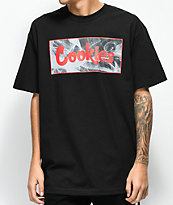 Cookies Black Smoke Black T-Shirt