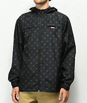 Cookies Cartegena C-Bite Black Windbreaker Jacket