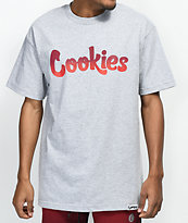 Cookies Horizon Thin Mint Logo Grey T-Shirt
