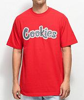 Cookies On The Gouch camiseta roja