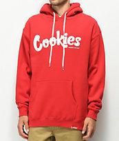 Cookies Thin Mint sudadera con capucha de roja