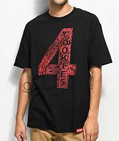 Cookies x 4 Hunnid Black T-Shirt