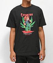 Cookies x Chucky Friends camiseta negra