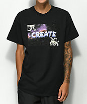 Create Astro Black T-Shirt