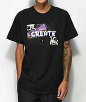 Create Astro camiseta negra