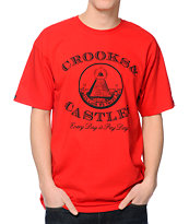 Crooks and Castles Payday Red T-Shirt