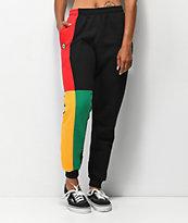 Cross Colours Colorblock Sweatpants
