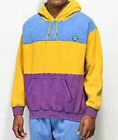 Cross Colours Colorblocked Fade Wash Hoodie