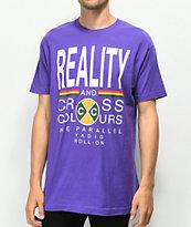 Cross Colours Reality Purple T-Shirt