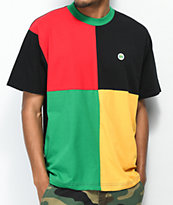 Cross Colours Square Block T-Shirt