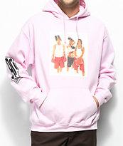 Cross Colours TLC Boxing sudadera rosa
