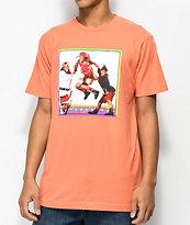Cross Colours TLC Jump camiseta en color coral