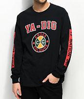 Cross Colours Ya Dig Black Long Sleeve T-Shirt