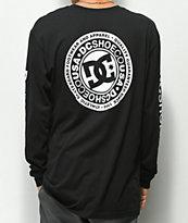 DC Circle Star Black Long Sleeve T-Shirt