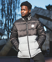 DC Gosforth Black Puffer Jacket