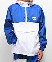 DGK Boardwalk Blue & White Windbreaker Jacket