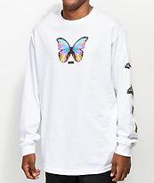 DGK Metamorphosis White Long Sleeve T-Shirt