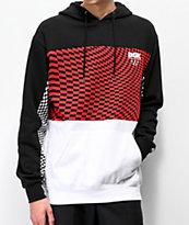 DGK Optical Checkered Red, White & Black Hoodie