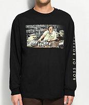 DGK The Boss Black Long Sleeve T-Shirt
