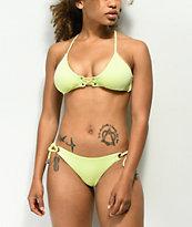 Damsel Scale Sunbleach Tie Side Cheeky Bikini Bottom