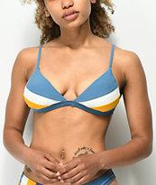 Damsel Winterfell Colorblock Triangle Bikini Top