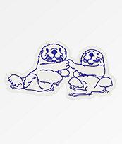 Danson Otter Love Sticker