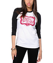 Dark Seas Dock Sirens Baseball Tee